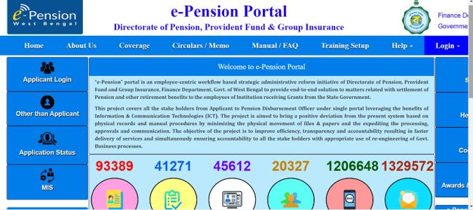 WB e-pension online