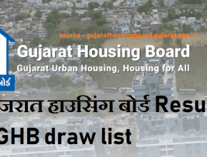 Gujarat Housing Board Draw Result 2021