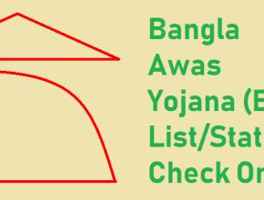 Bangla Awas Yojana New List 2021