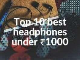 best earphones under ₹1000