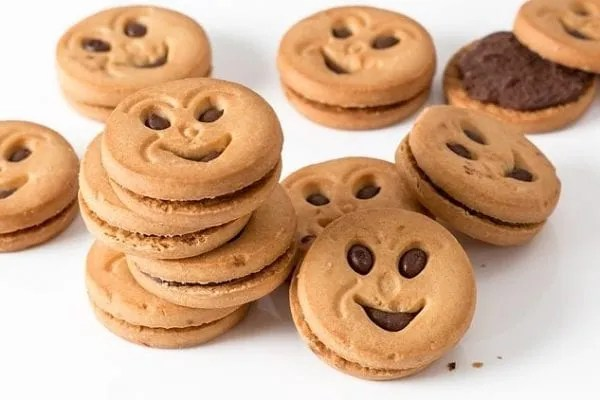 smile face cookies