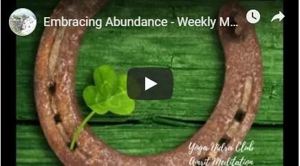 Embracing Abundance Meditation image