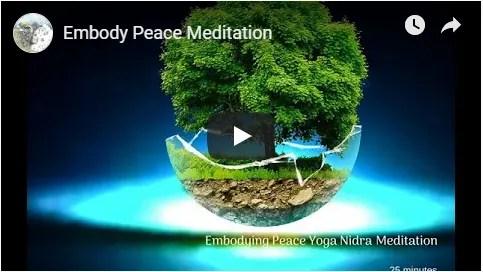 Embody Peace Meditation Image