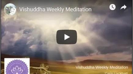 Vishuddha weekly meditation image
