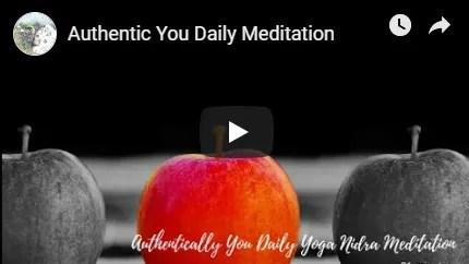 Authentic You Meditation image