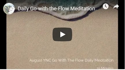 Go with the Flow Meditation Image