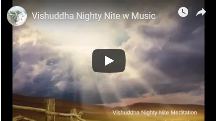 Vishuddha meditation with music image