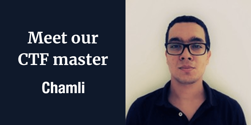 Think like a hacker – Meet Chamli, our CTF master