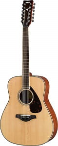 Yamaha FG820 12-String Solid Top Acoustic Guitar