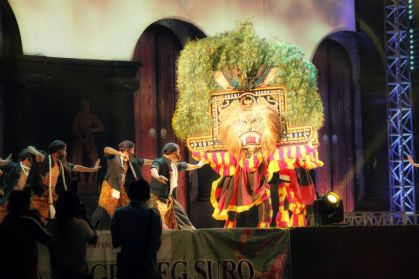 Reyog panggung utama