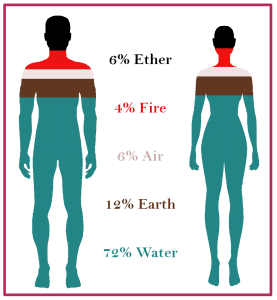 elmentsinthebody 277x300 - Pancha Mahabhuthas - The five elements and how to purify them