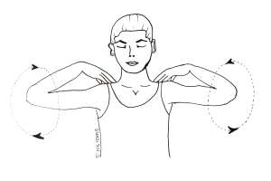yoga for neckpain3 300x200 - Yoga for neck pain