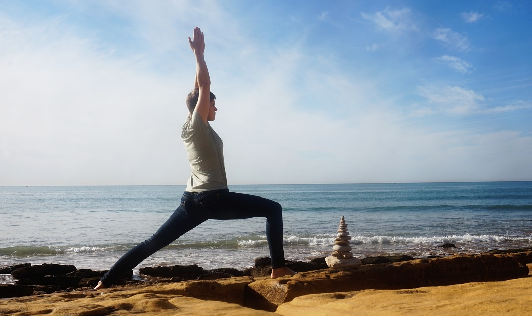 Virbhadrasana2 - Asana of the Month: Virabhadrasana 1