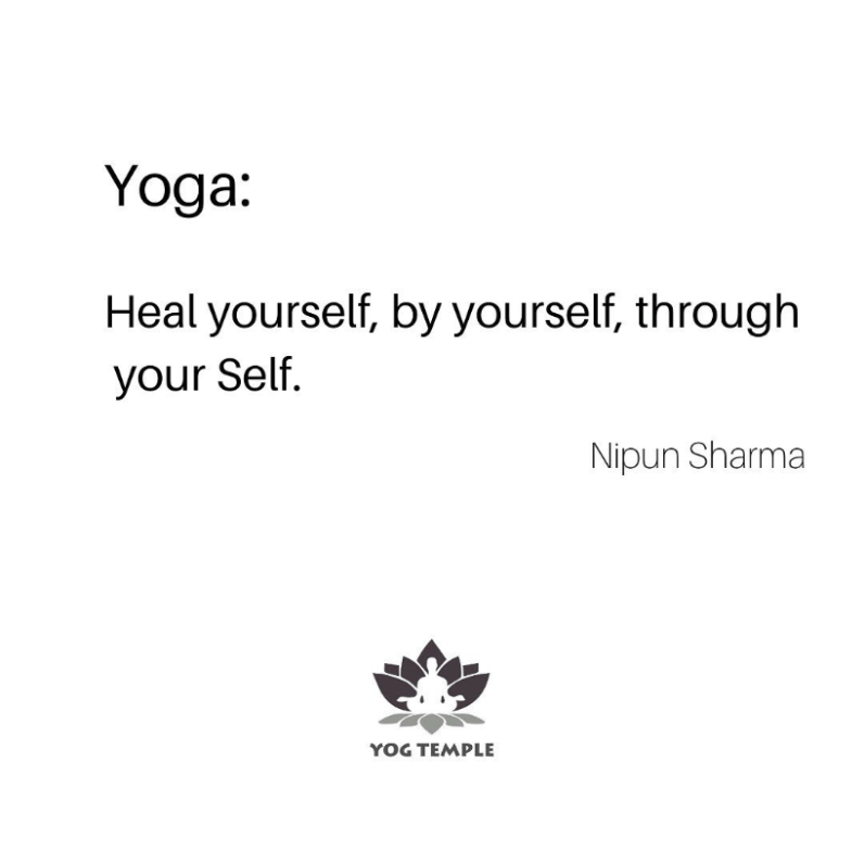 quote nipun sharma yogtemple - Yoga Quotes