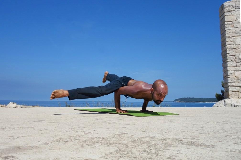 ekapadakoundinyasana yogtemple - Yoga Asana Glossary