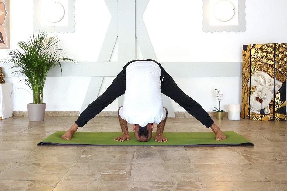prasaritapadottanasana yogtemple - Yoga Asana Glossary