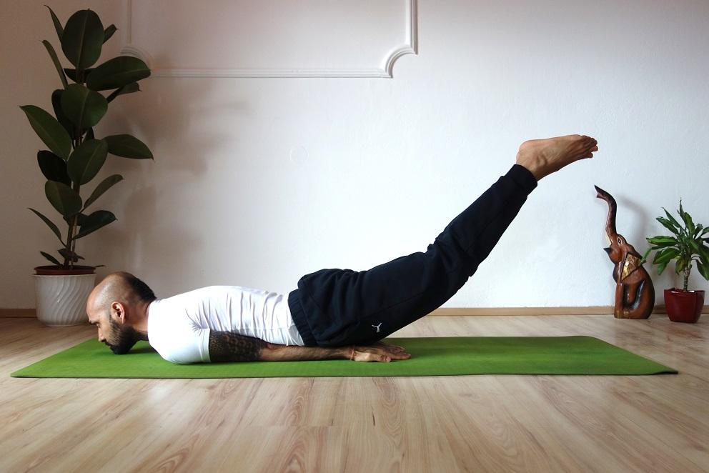 shalabhasana yogtemple - Yoga Asana Glossary