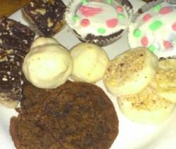 christmas cookies and bars