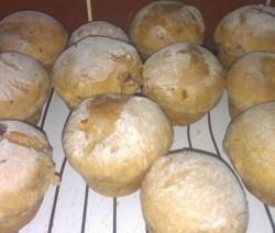 cranberry buns