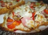 bannock pizza