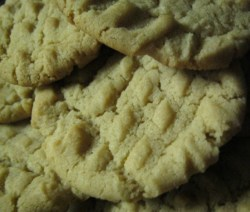 peanut butter cookies no eggs