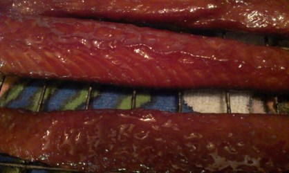 candied salmon