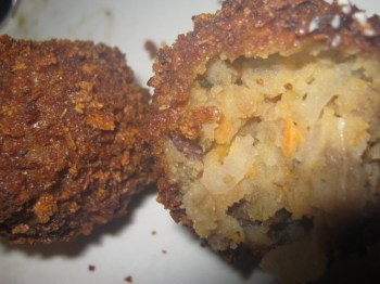 deep fried potato balls