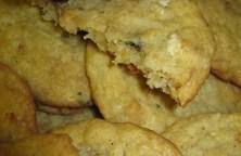 granola yogurt coconut cookies