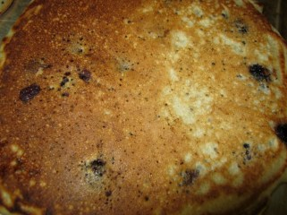 poppy blueberry pancakes