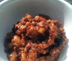 mixed bean chili