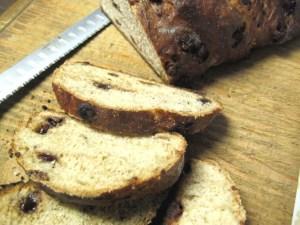 banana chocolate chip prairie bread