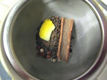 banana peel tea mix
