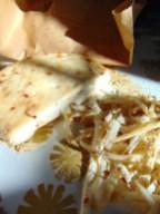 shredded kefir cheese