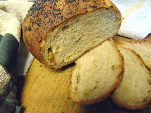 poppy seed olive bread