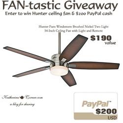 fan-tastic giveaway button