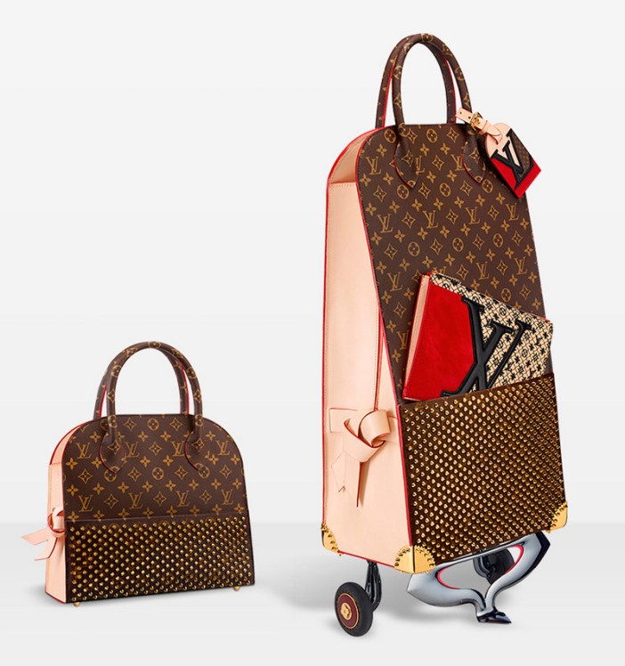 Celebrating-Monogram-bolso-Christian-Louboutin-Louis-Vuitton