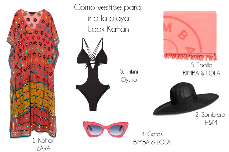 Cómo vestirse para ir a la playa