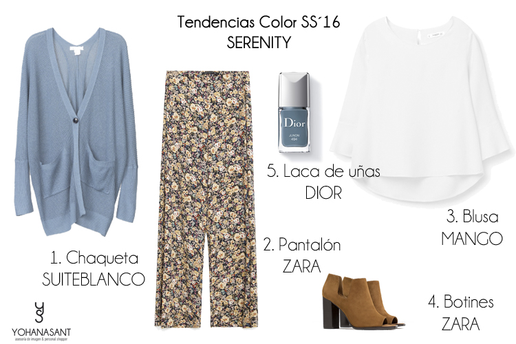 tendencias color ss16 serenity personal shopper yohanasant