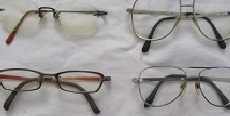 不用になったメガネをJINSでリサイクル回収