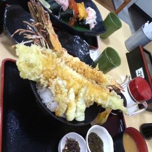 漁師料理よこすか【メニュー写真】久里浜港で食べた美味しい天丼