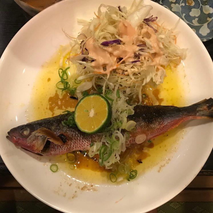 Butter Sautéed Fish (Bonnet Mouth?)