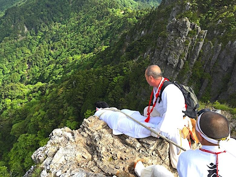 大峰山の修行