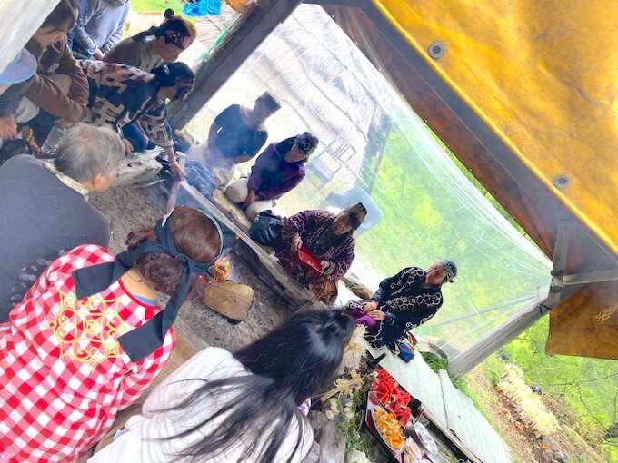 カムイノミの儀式