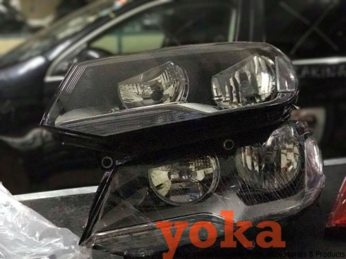 VW Touareg Xenon Headlamps