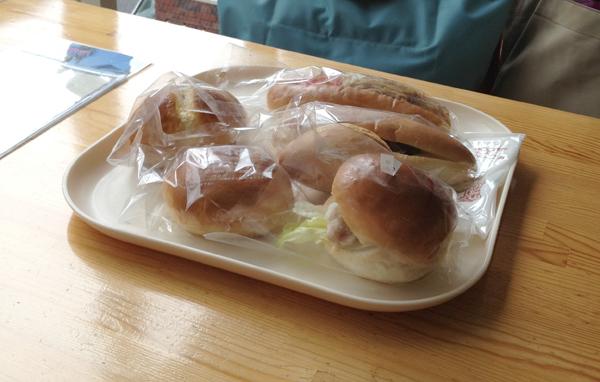 中村屋のパン