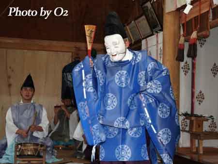 函館市 安浦稲荷神社 松前神楽 翁舞