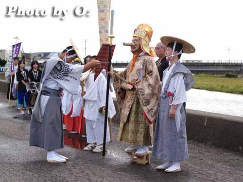 H19 福島大神宮 渡御祭 猿田彦