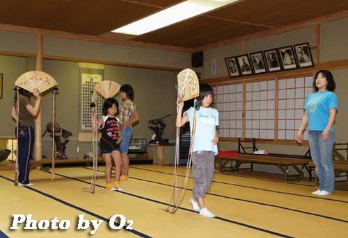 平成19年 湯倉神社 浦安の舞 練習風景3