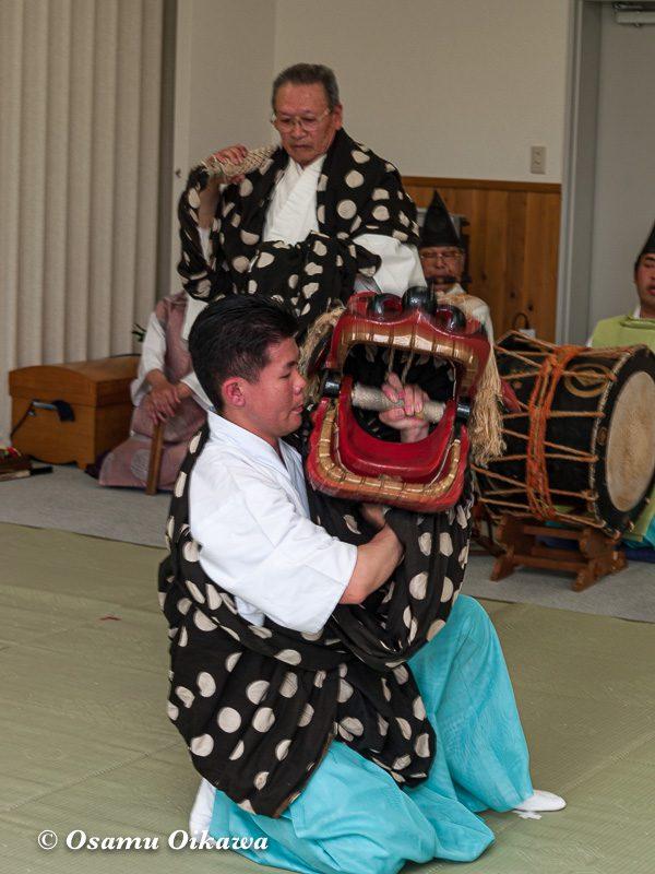 平成20年 福島町 湯の川オンパク 松前神楽 獅子舞