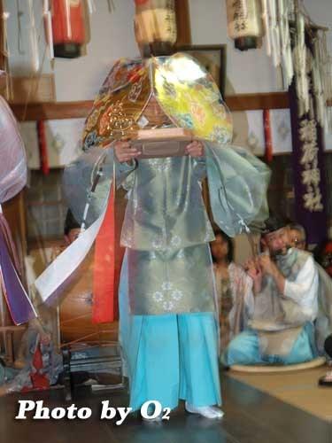 平成20年 函館市 豊川稲荷神社本祭 松前神楽 二羽散米舞